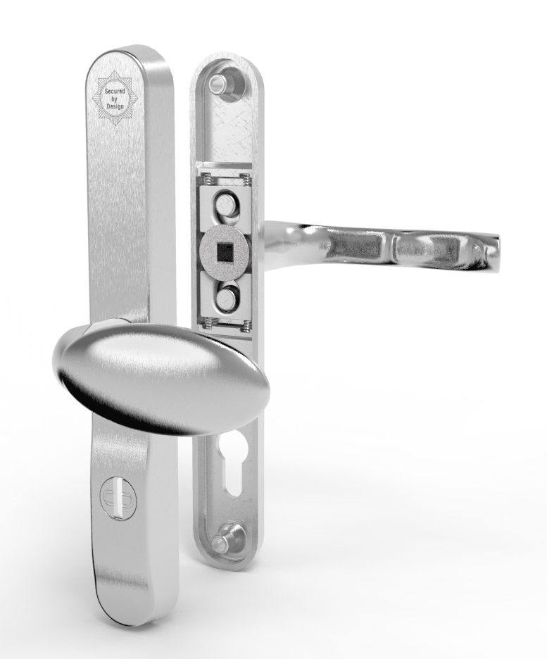 Mila ProSecure Lever Pad PAS24 High Security Door Handle TS007 2 Star